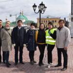 24 апреля состоялся субботник, приуроченный к Международному дню памятников и исторических мест